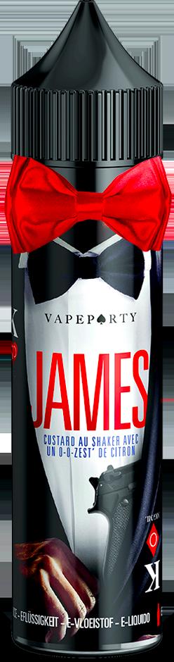 Vape Party James par Swoke